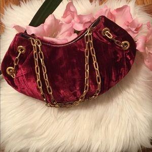 Maxx New York velvet purse
